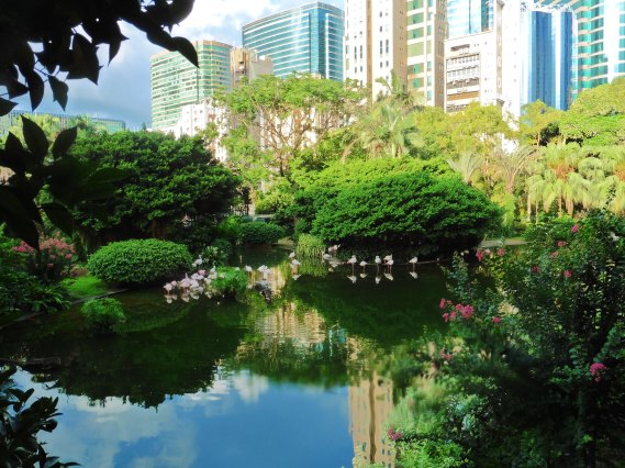Kowloon Park in Hong Kong