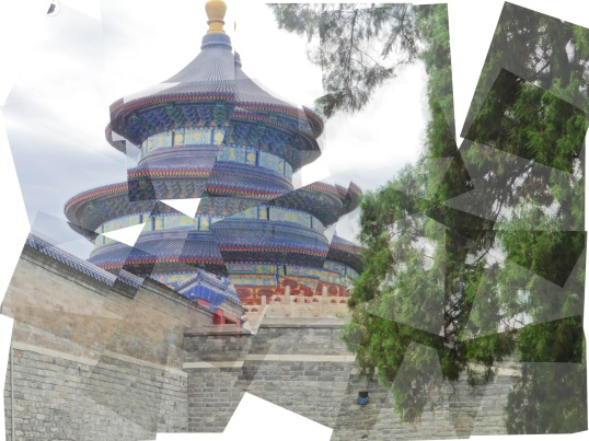 Temple of Heaven patch work